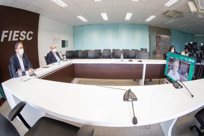 Reunião Fiesc – Foto: Filipe Scotti/ND