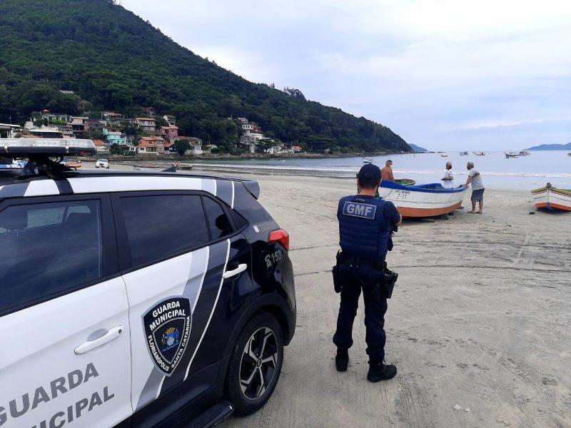 Fiscalizações nas praias de Santa Catarina