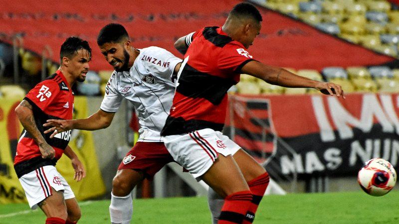 Fluminense venceu o Flamengo no clássico da rodada – Foto: Mailson Santana/Fluminense FC/ND