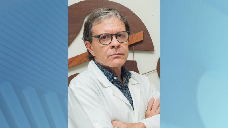 O médico Amaury Mielle Filho avalia o avanço da Covid-19 – Foto: Arquivo Pessoal/Reprodução