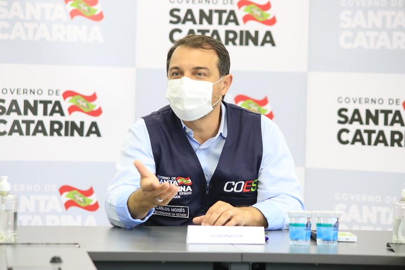 Moisés foi afastado do cargo de governador no fim de março após julgamento de novo pedido de impeachment – Foto: Cristiano Estrella