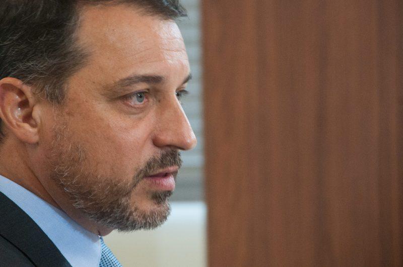 O governador Carlos Moisés enfrenta julgamento do 2º impeachment