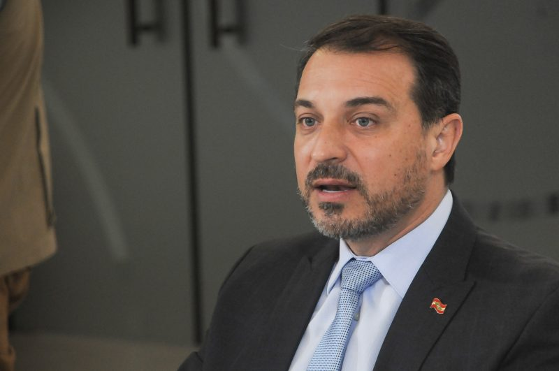 Governador Carlos Moisés – Foto: Leo Munhoz/ ND