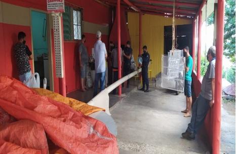O bar foi fechado pela Guarda Municipal – Foto: Guarda Municipal/Divulgação/ND