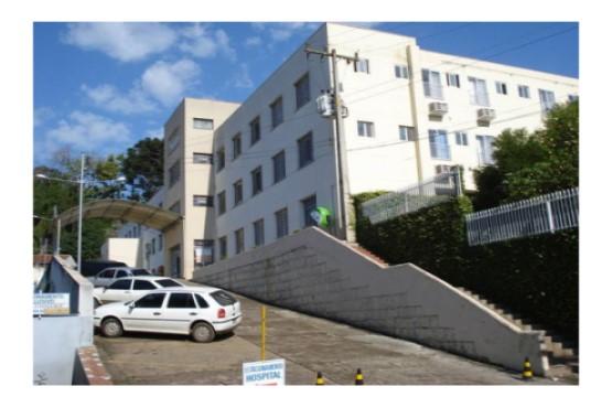 Hospital de Capinzal recebeu R$ 27 mil por meio da comarca que serão destinados para compra de tecidos utilizados na confecção de jalecos, lençóis e roupas – Foto: Hospital Nossa Senhora das Dores/Divulgação