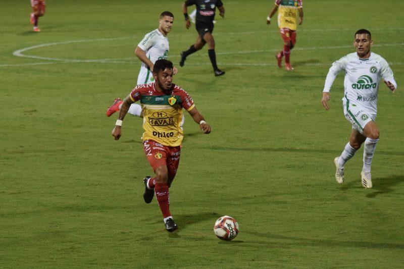 Chapecoense x Brusque, em duelo pela 7ª rodada do Catarinense – Foto: Jefferson Alves/Brusque FC