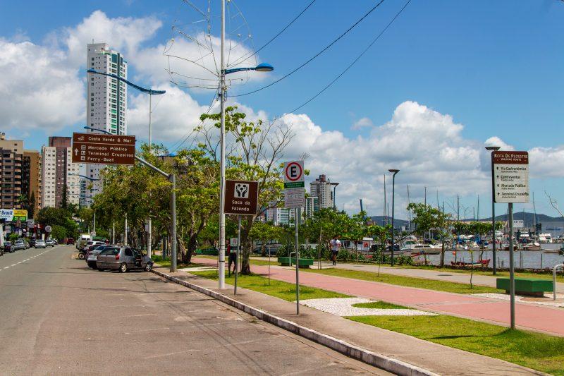 Beira Rio, em Itajaí – Foto: Bruno Golembiewski/ND