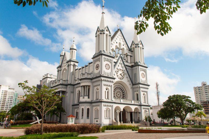 Igreja Matriz de Itajaí – Foto: Bruno Golembiewski/ND