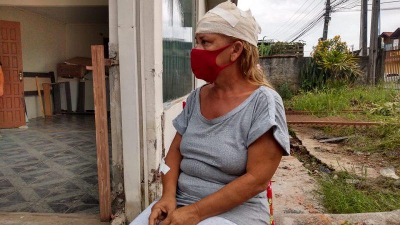 Jane Mary diz que vai buscar justiça para o marido atropelado por uma viatura da PM – Foto: Jonathan Rocha/NDTV