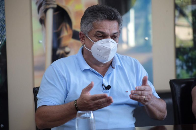 Na internet, o prefeito João Rodrigues afirmou que confia na Justiça e no arquivamento do inquérito – Foto: Divulgação/Prefeitura de Chapecó