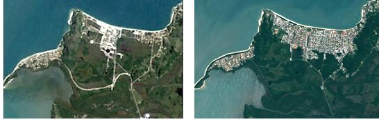 Florianópolis tem a menor taxa de urbanização em comparação às outras duas capitais do Sul do Brasil. A foto acima refere-se ao bairro Jurerê – Foto: Divulgação/ND