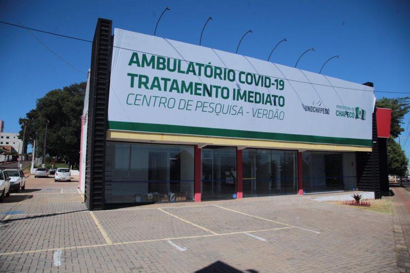 Ambulatório Covid-19 no Verdão – Foto: Arquivo/Leandro Schmidt/ND