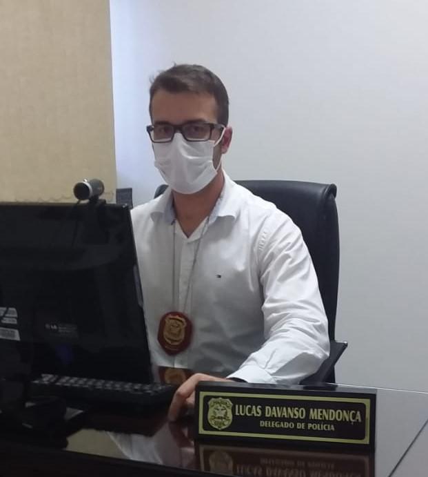 Delegado de São Bento do Sul, Lucas Mendonça – Foto: Arquivo pessoal/Divulgação ND