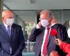 Luciano Hang se reuniu com o ministro Paulo Guedes para tratar da compra de vacinas contra a Covid-19 – Foto: Reprodução/Instagram