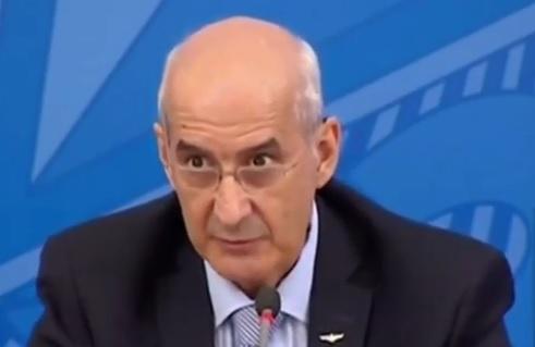 Ministro da Casa Civil, Luiz Eduardo Ramos, não garantiu a realização da Copa América no país – Foto: Reprodução/Youtube