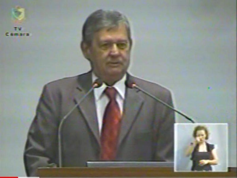 Marco também foi vereador de Joinville – Foto: Arquivo Pessoal