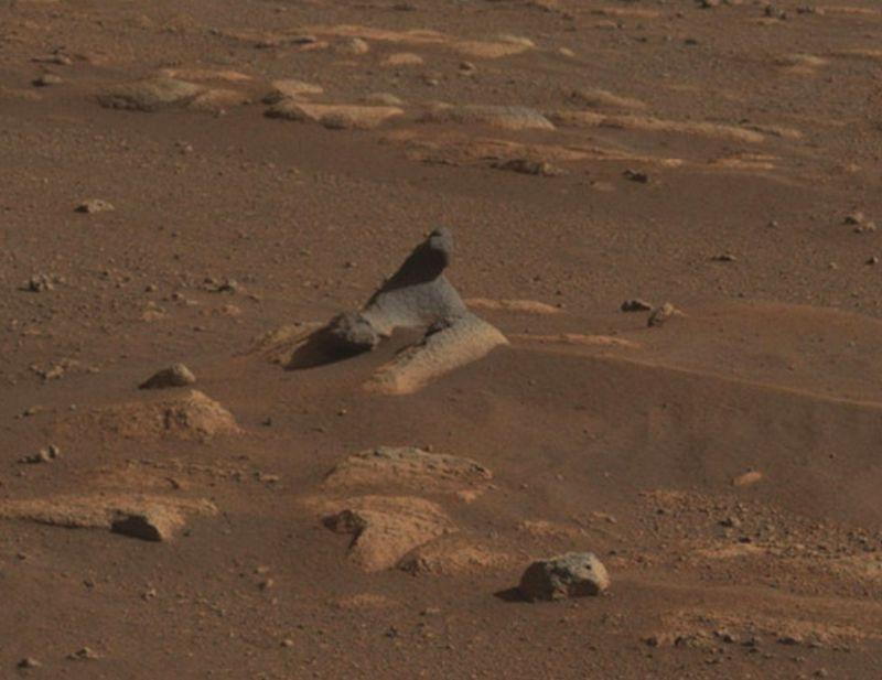 Considerada a sonda mais avançada já lançada pelo homem ao espaço, o Perseverance completou sua primeira semana em Marte na última quinta-feira (25) – Foto: Nasa/Divulgação