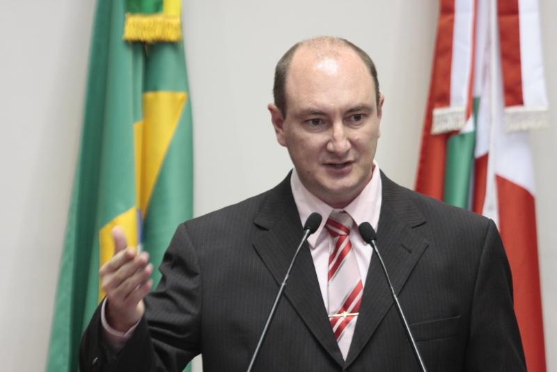 Deputado Mauro de Nadal, presidente da Assembleia – Foto: Agência Alesc