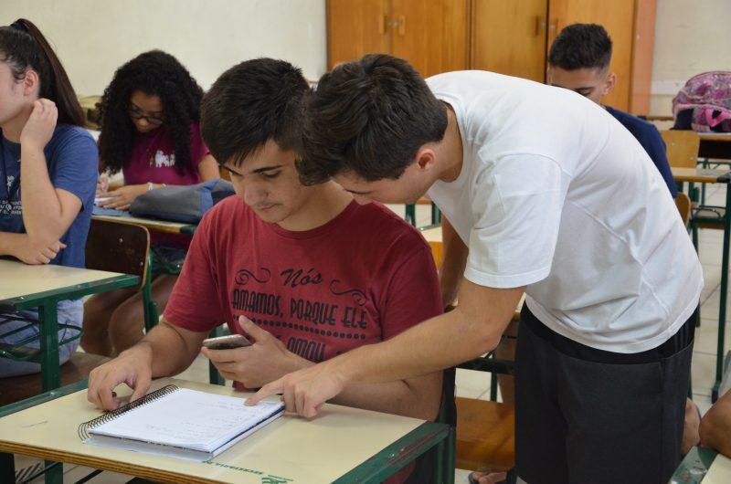 Aula de Monitoria Externa – Foto: Divulgação/Colégio Catarinense