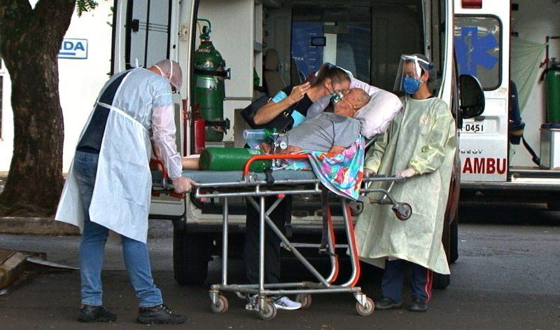 Idoso foi internado na manhã de 25 de fevereiro – Foto: Arvito Concatto/NDTV/ND