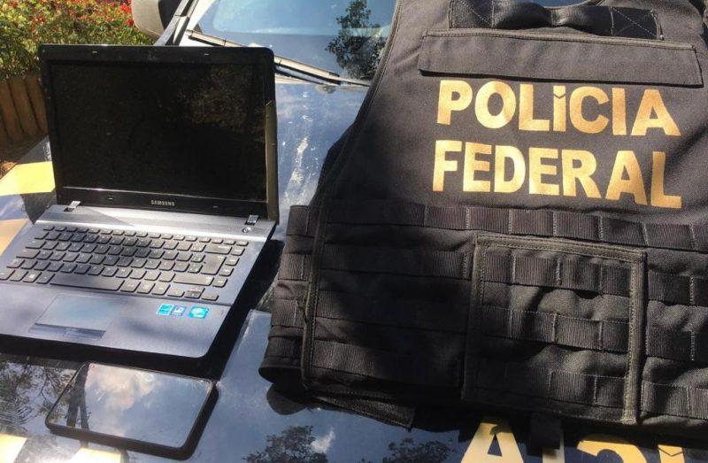 Polícia Federal deflagra operação contra pedófilo em Rio do Sul – Foto: Divulgação/Polícia Federal