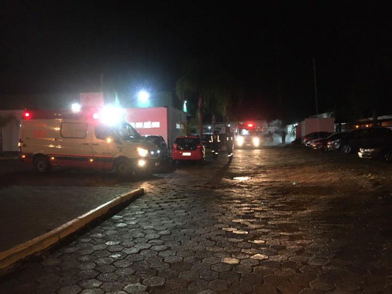 Número de pacientes à espera de um leito de UTI ultrapassa os 70 na região de Joinville – Foto: Ricardo Alves/NDTV