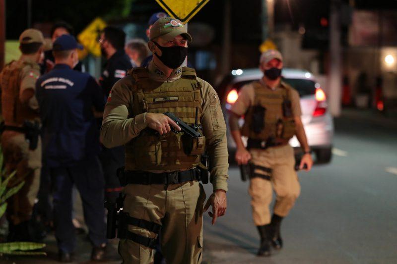 Polícia Militar deteve o homem no bairro São Pedro – Foto: Mauricio Vieira/Secom/ND