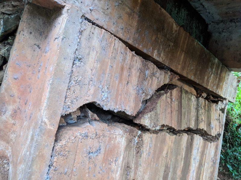 Rachaduras são vistas há mais de cinco anos por moradores do interior de Piratuba – Foto: Marcelo Santos/Divulgação