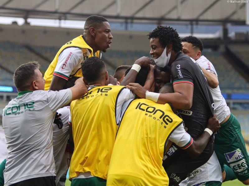 Portuguesa vence o Fluminense por 3 a 0 – Foto: Divulgação/Portuguesa-RJ