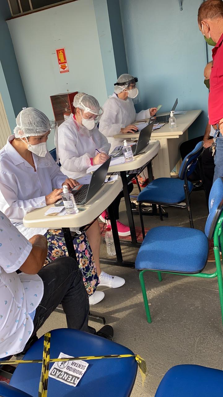 Vacinação será nesta terça-feira (23). - Prefeitura de Chapecó/Divulgação/ND