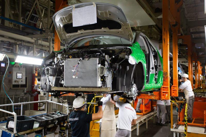 Produção de veículos despenca em fevereiro e liga sinal de alerta - Divulgação/Nissan