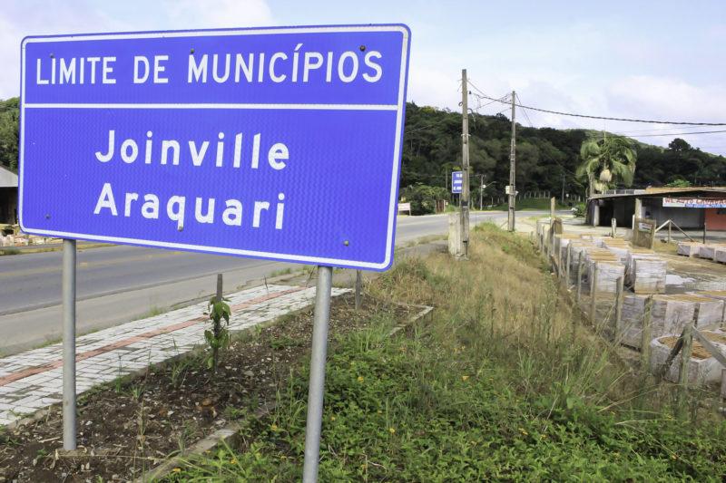 Inicialmente, região metropolitana será constituída por Joinville e Araquari – Foto: Mauro Artur Schlieck/ND