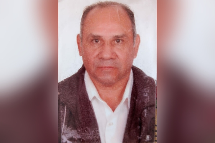 Devenildo Simão dos Santos, de 67 anos, morreu na última quarta-feira (24), no Espírito Santo