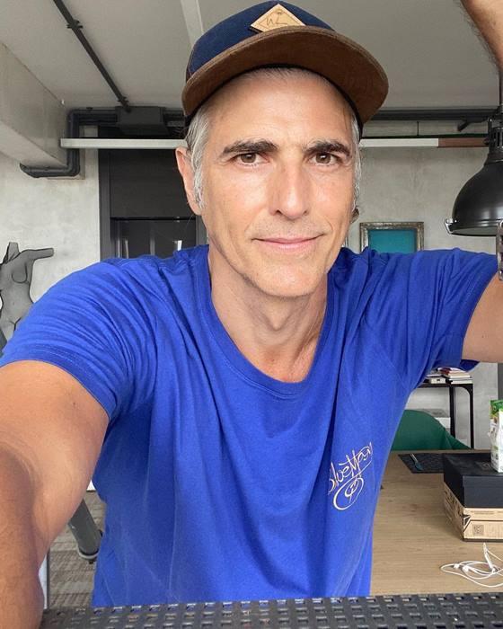 Aos 48 anos o ator começou a fazer reposição de colágeno – Foto: Reprodução/Instagram