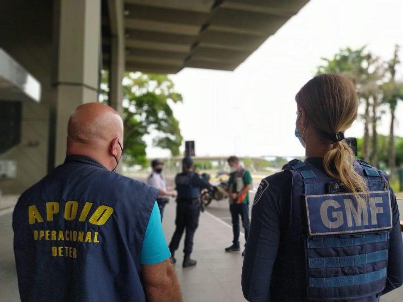 GMF foi até o Terminal Rita Maria e conduziu o homem até hotel – Foto: Divulgação/GMF