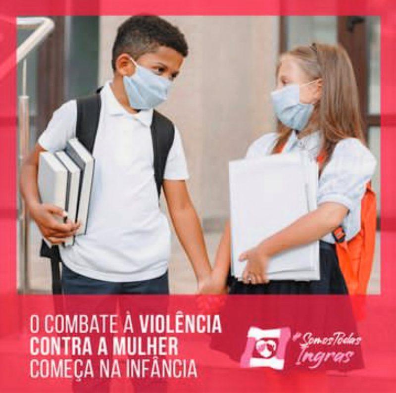 Respeito entre gêneros se ensina desde criança – Foto: Reprodução/Redes sociais/Divulgação/ND