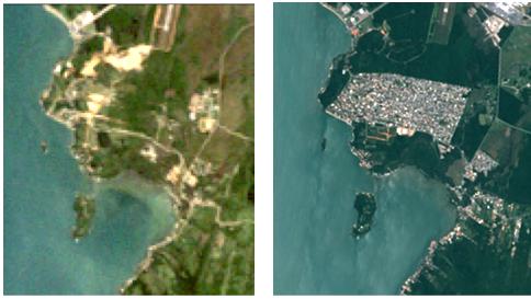 Jurerê, Ingleses e Campeche, apontam um crescimento significativo da área urbana no local. Tapera, Rio Vermelho e Itacorubi também apresentaram aumento. A imagem acima refere-se ao bairro Tapera, no Sul da Ilha – Foto: Divulgação/ND