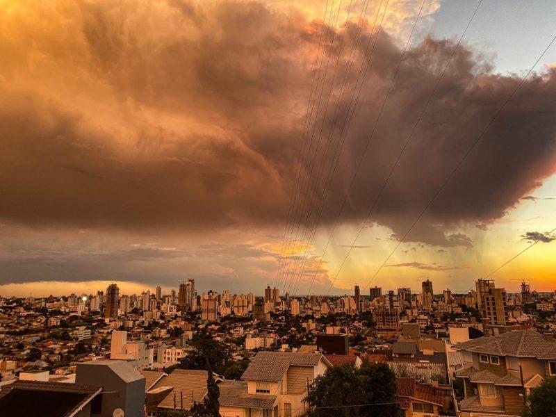Tempo em Chapecó nesta quarta-feira, 24 – Foto: Willian Ricardo/ND