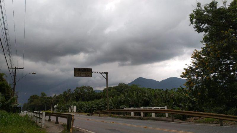 Norte de SC está em alerta para o risco de temporais – Foto: Juliane Guerreiro/ND