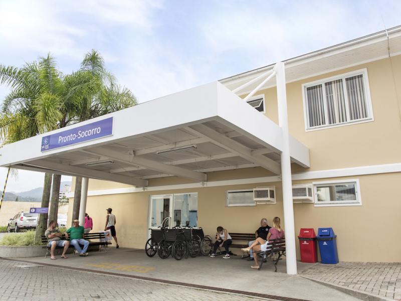 Adolescente estava internado em Jaraguá do Sul e morreu na madrugada desta quarta-feira (17) – Foto: Divulgação/ND
