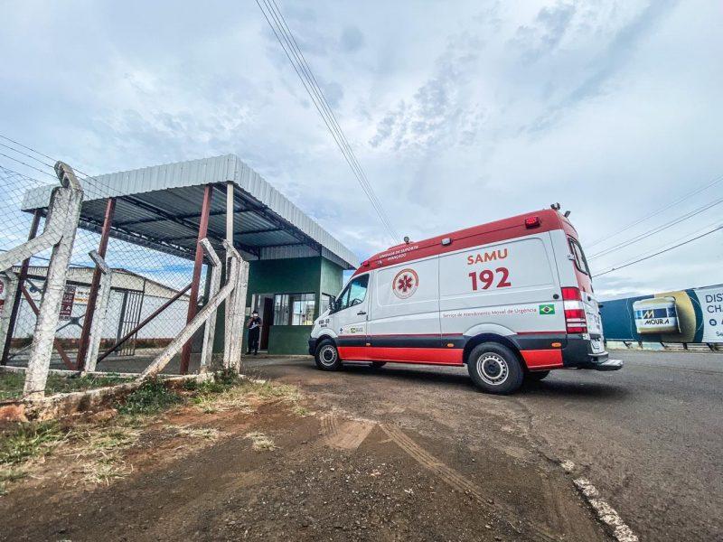 Primeiro paciente foi transferido para o Espírito Santo nesta quarta (3) – Foto: Willian Ricardo/ND