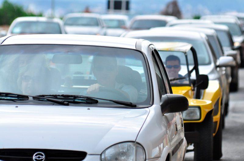São José e Palhoça registram trânsito bastante expressivo