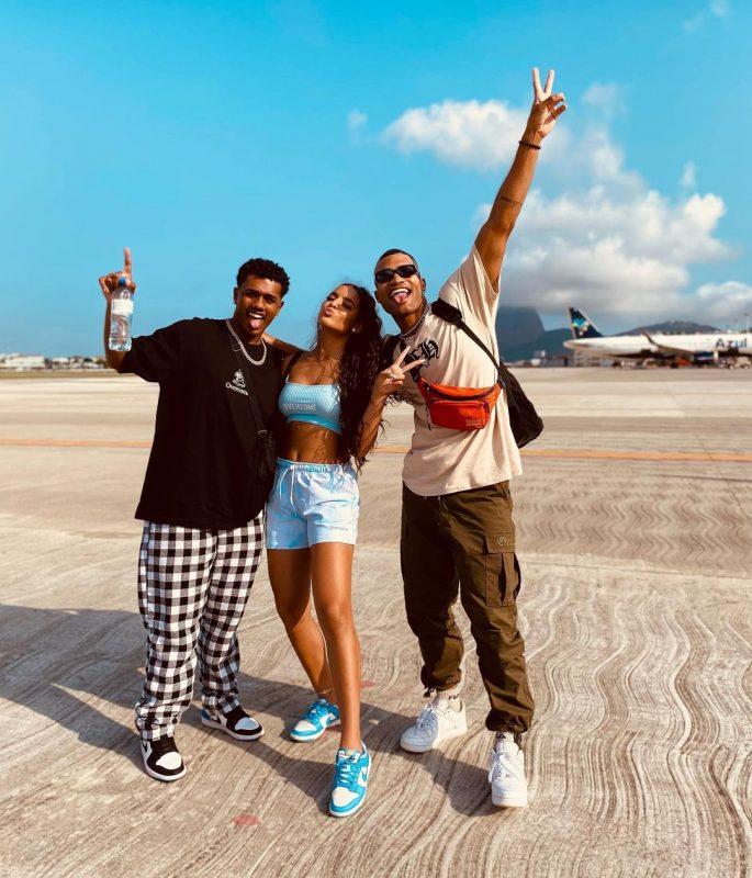 Trio soma milhares de seguidores no Instagram e tem atraído os olhares dos famosos da internet – Foto: Reprodução Instagram/ND