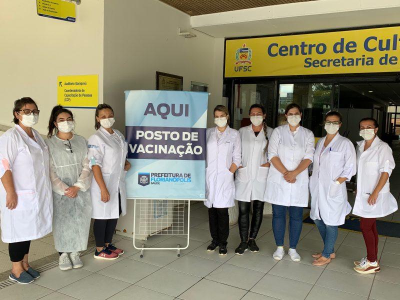 Equipe de enfermagem mostrou profissionalismo – Foto: Moacir Pereira