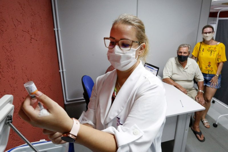 Novas vacinas chegaram a SC nesta segunda – Foto: Prefeitura de Joinville/Divulgação