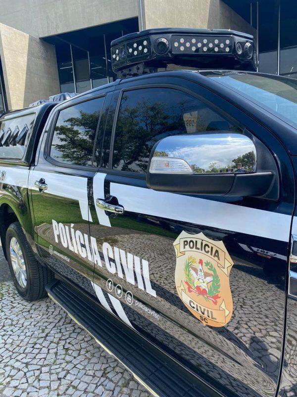 Suspeito de estupro e de armazenar pornografia infantil é preso em Camboriú – Foto: Polícia Civil/Divulgação