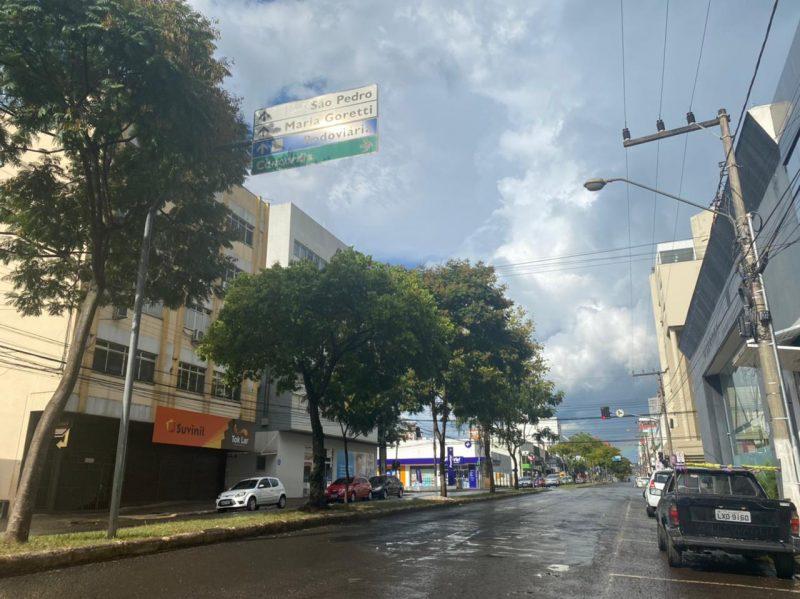 Apesar disso, regiões como o Oeste registraram chuva esparsa e comum. Praticamente todo o restante do território catarinense não teve nem um quarto da chuva registrada na capital ou em Joinville – Foto: Willian Ricardo/ND