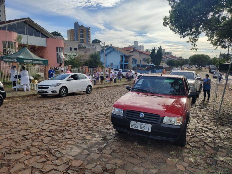 Inicia nesta terça-feira (30) a vacinação para idosos com 68 e 69 anos – Foto: Prefeitura de Xanxerê/Divulgação