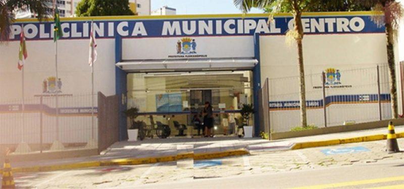 Prédio onde funcionam a Policlínica e o Centro de Saúde do Centro – Foto: PMF/Divulgação/ND