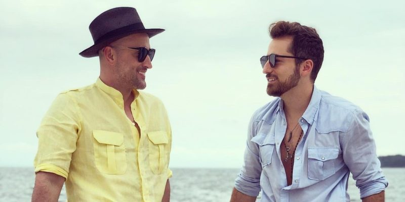 Thales Bretas e Paulo Gustavo – Foto: Reprodução/Instagram